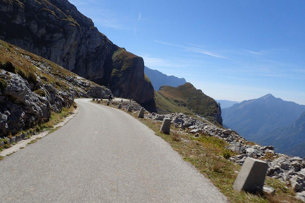 Niesamowite drogi w Alpach Julijskich