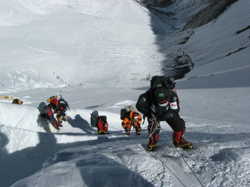 Drogi na Mount Everest