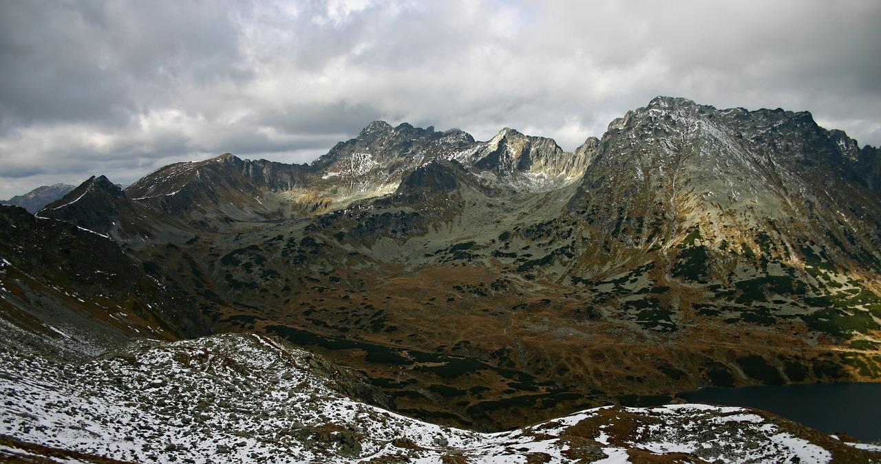 Widoki ze szpiglasowej przełęczy - Tatry