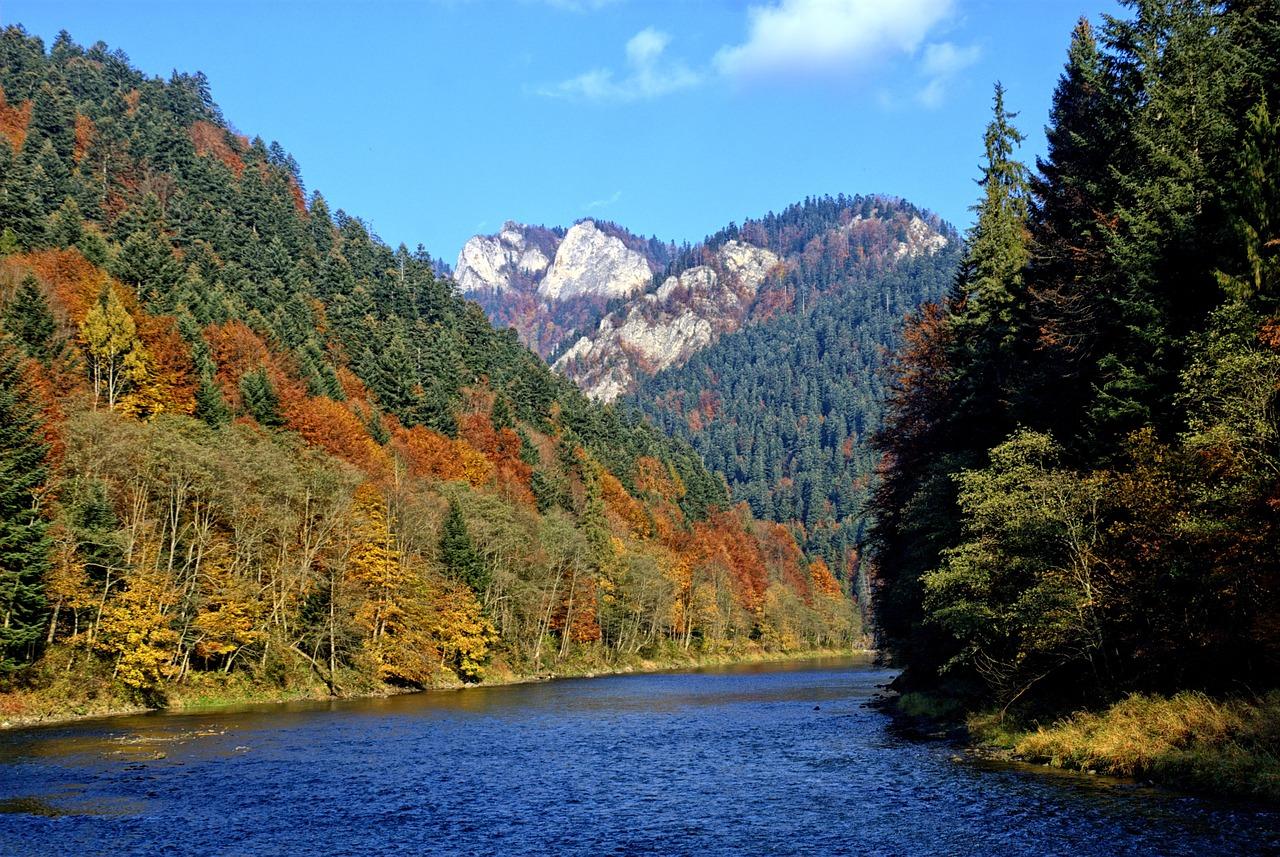 Jakie są główne szlaki w Pieninach?