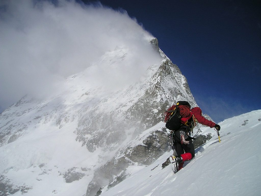 Szczyt Everest- niebezpieczna wędrówka