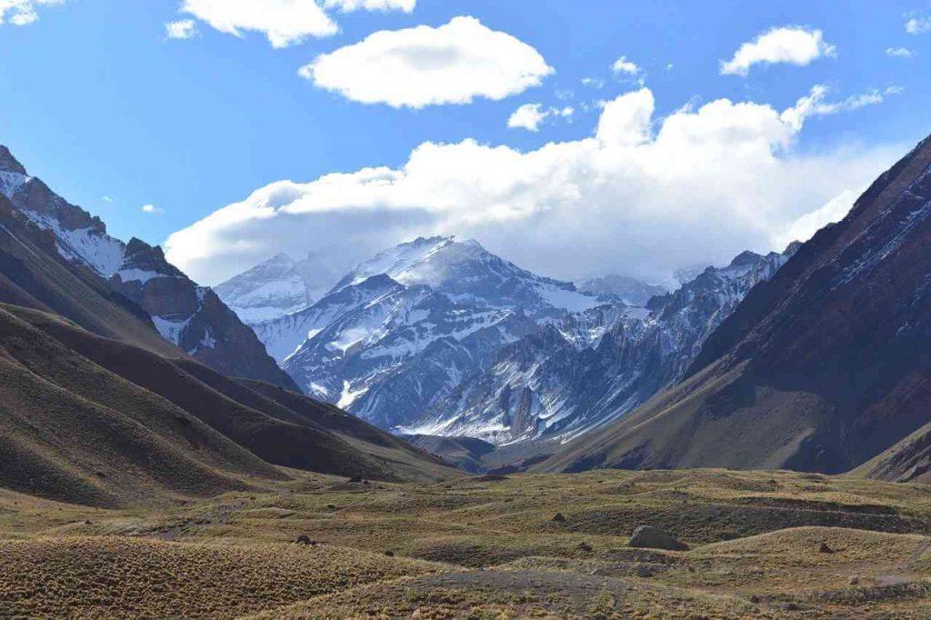 Aconcagua najwyższy szczyt Ameryki Południowej