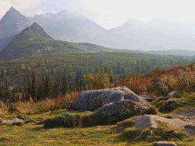 Kościelec zachwycający szczyt w polskich Tatrach