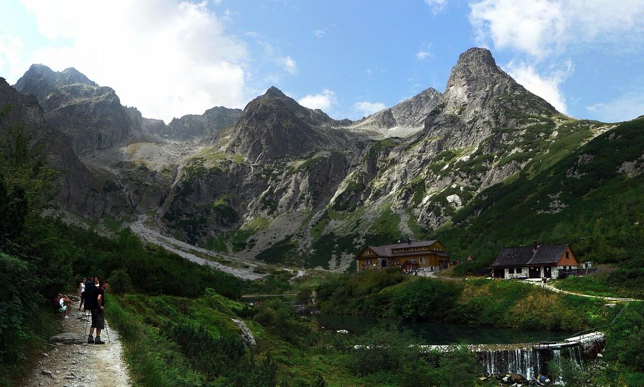 Mapa Tatry szlaki jak skrócić wspinaczkę