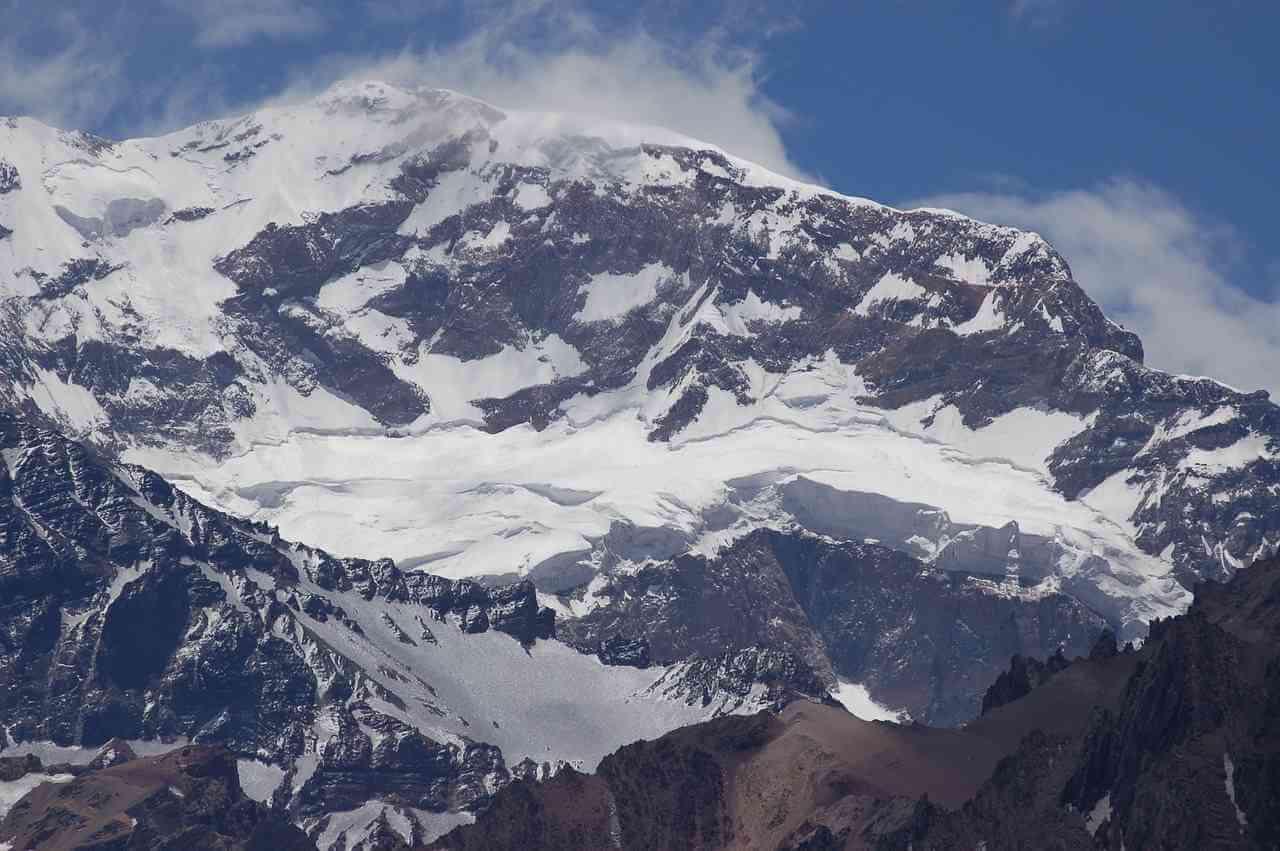 Najwyższy szczyt Ameryki Południowej Aconcagua
