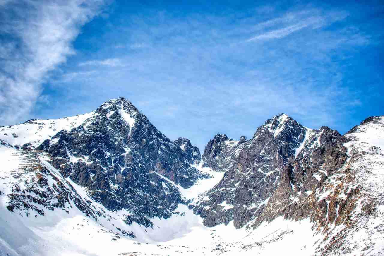 Najwyższy szczyt Tatr Gerlach
