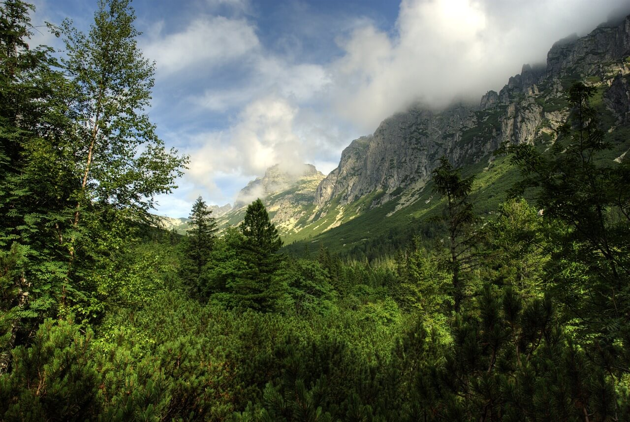 Szlaki turystyczne po słowackiej stronie Tatr