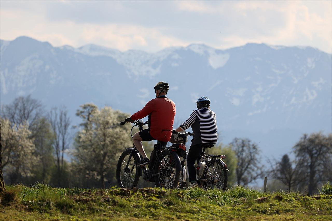 wycieczka rowerowa w górach