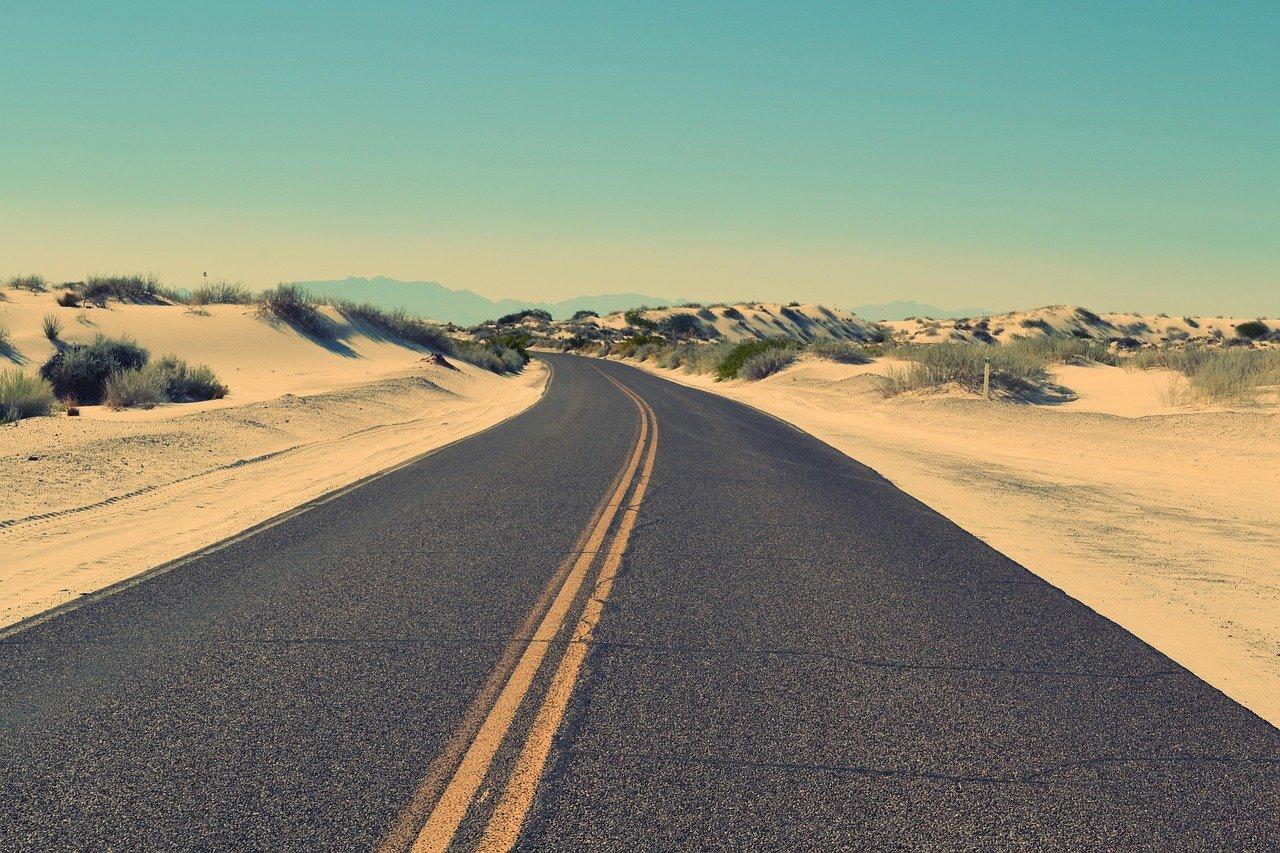 Droga przez pustynie
