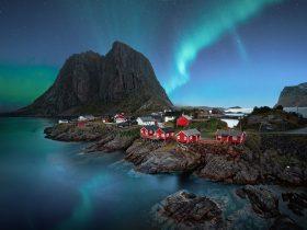 Taniec na niebie - zorza polarna