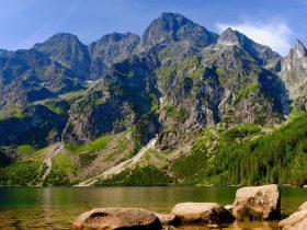 Spojrzenie ku Mięguszowieckiej Przełęczy pod Chłopkiem