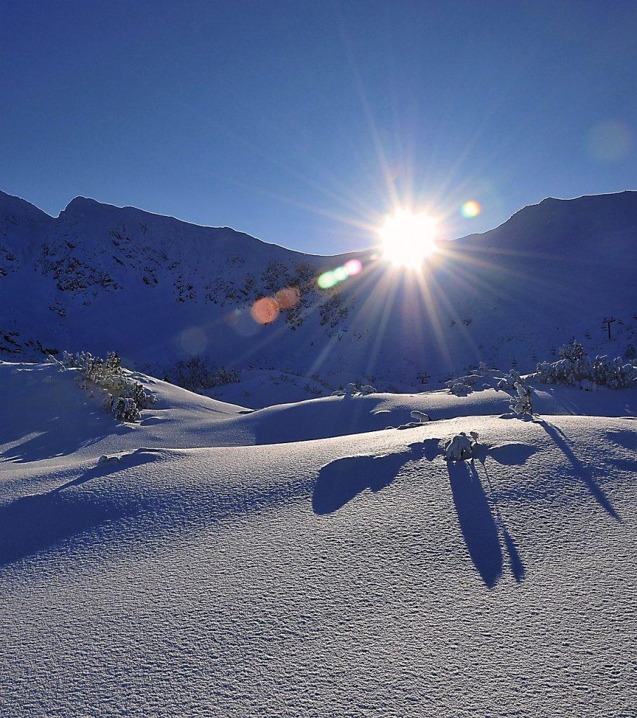 Koprowy Wierch zimą
