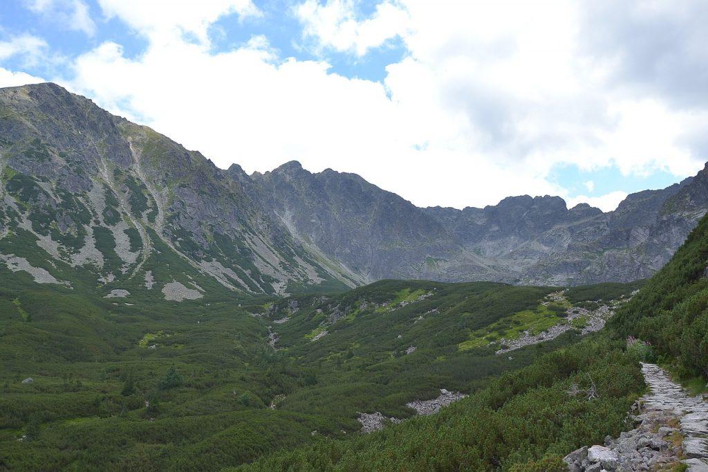 Przełęcz między Kopami