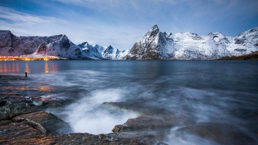 Morze Norweskie i wir wodny Maeistrom