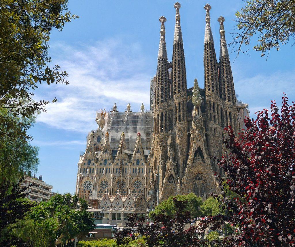 Lodowa Bazylika Sagrada Familia