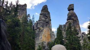 Najsłynniejsze skały w Adrspach