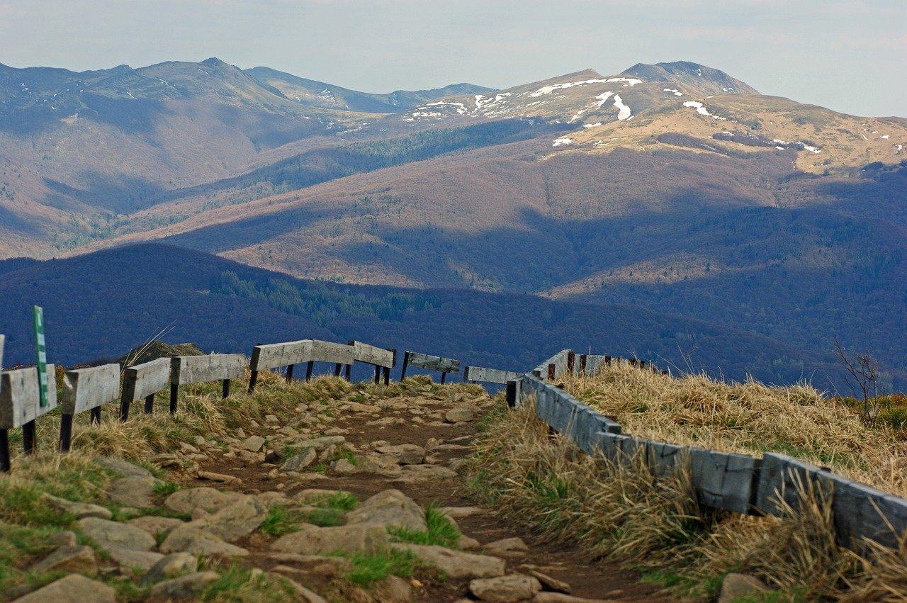 Dojście do trójstyku granic (szczyt Krzemieniec - 1221 m n.p.m.)