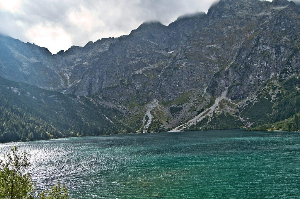Popradské pleso - tatrzańskie jezioro