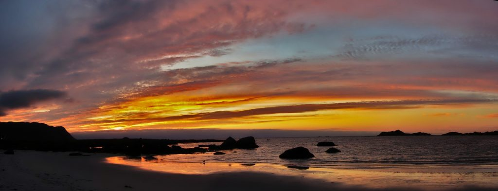 Piaszczyste plaże Vik, Utakleiv i Unstad