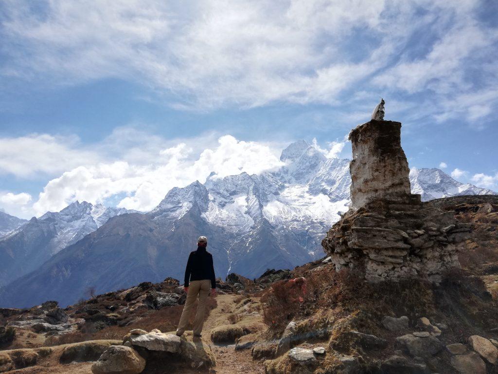 widok na Himalaje