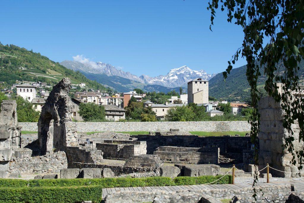 Aosta ruiny