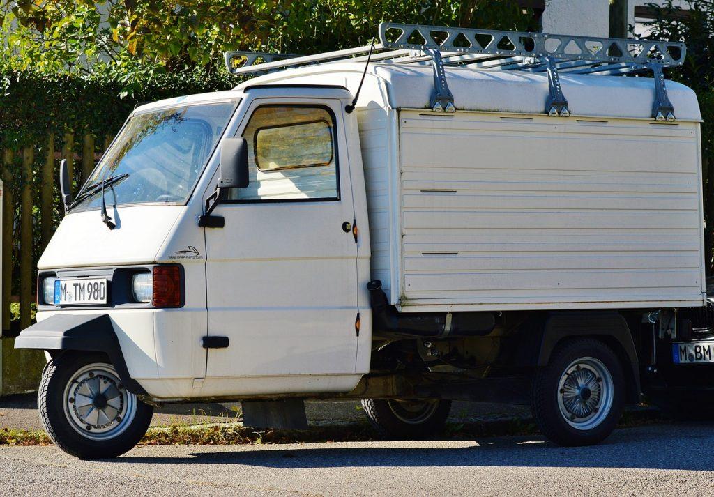 samochód Ape marki Piaggio