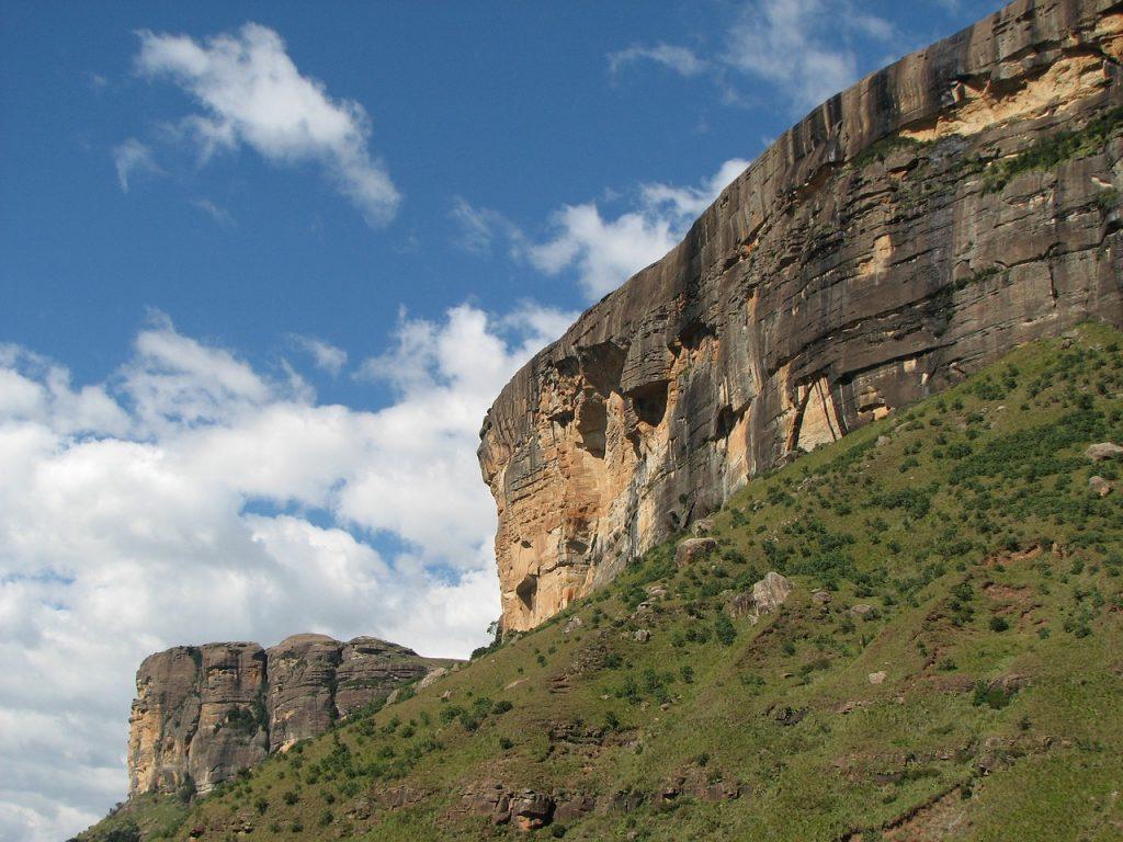 kanion z górach