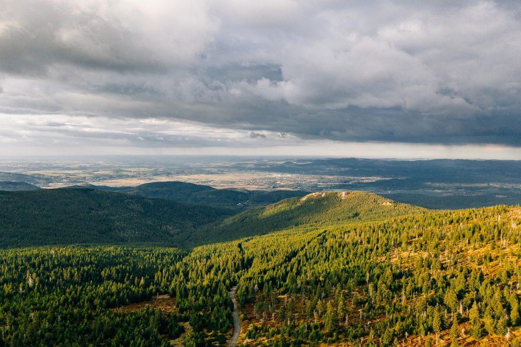 widok na Góry Bialskie