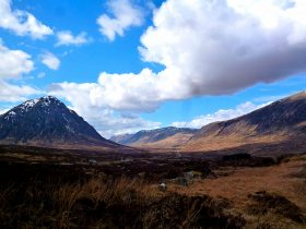 widok na szlak West Highland Way