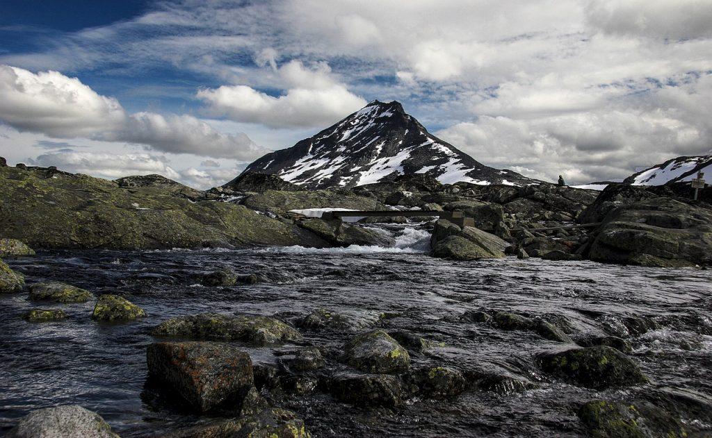 szlak na Galdhøpiggen