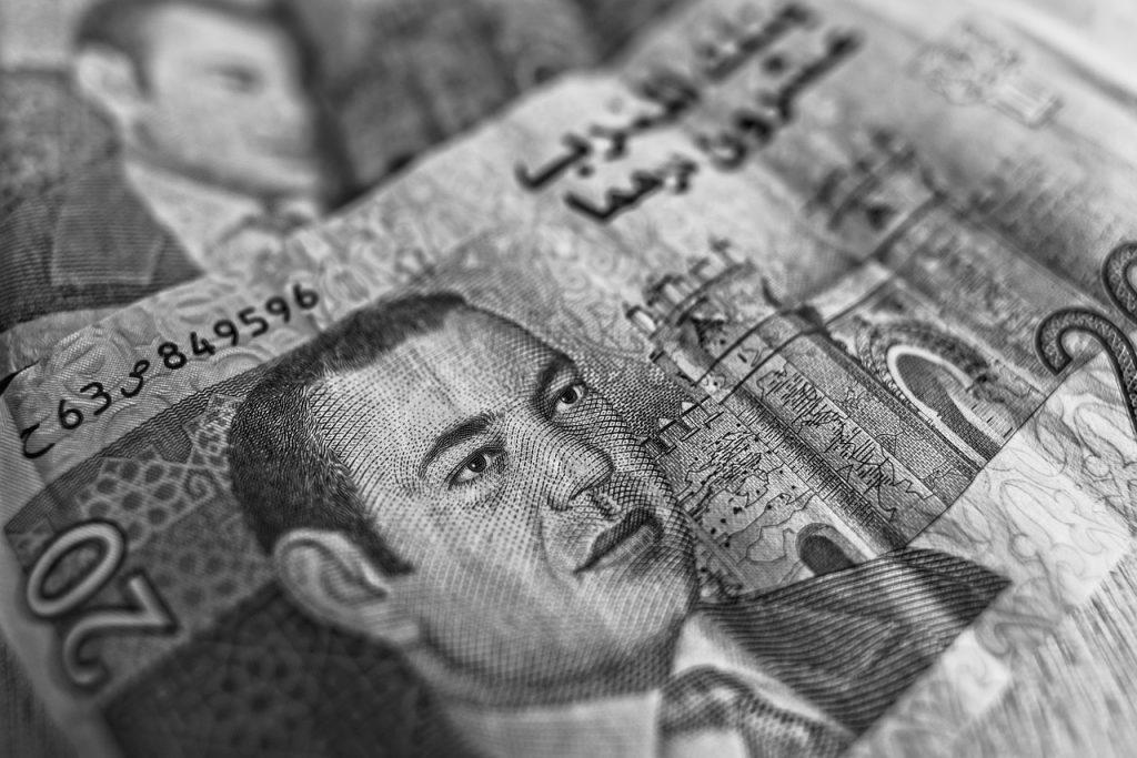 marokańskie pieniądze