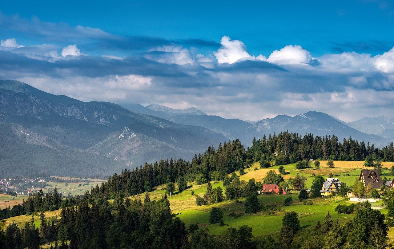 Krajobraz Tatry Zakopane