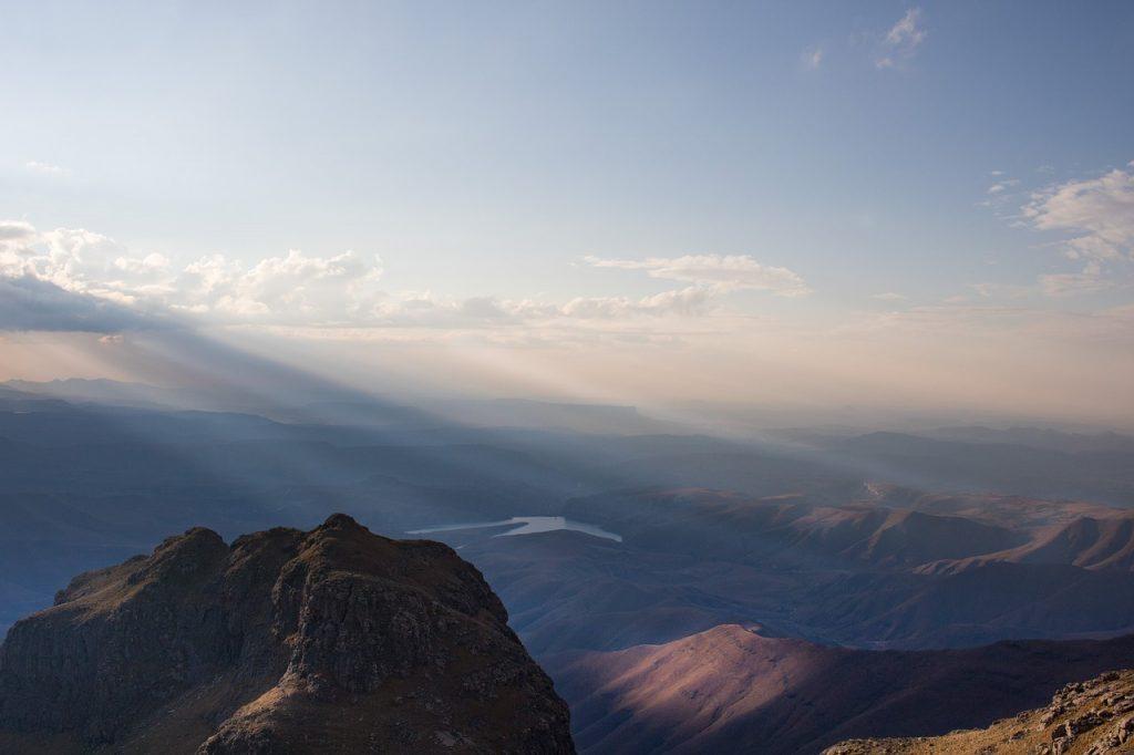 panorama w górach