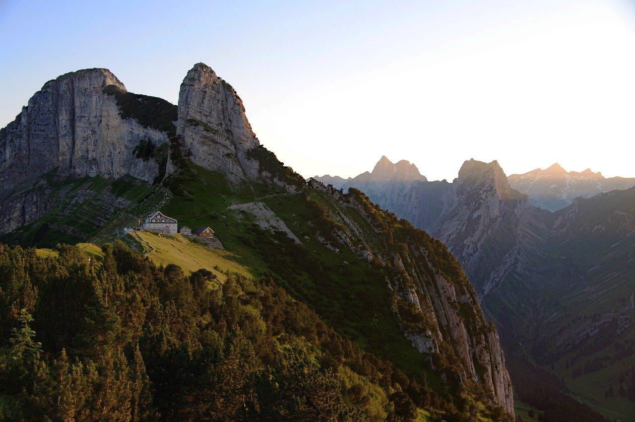Alpy krajobraz