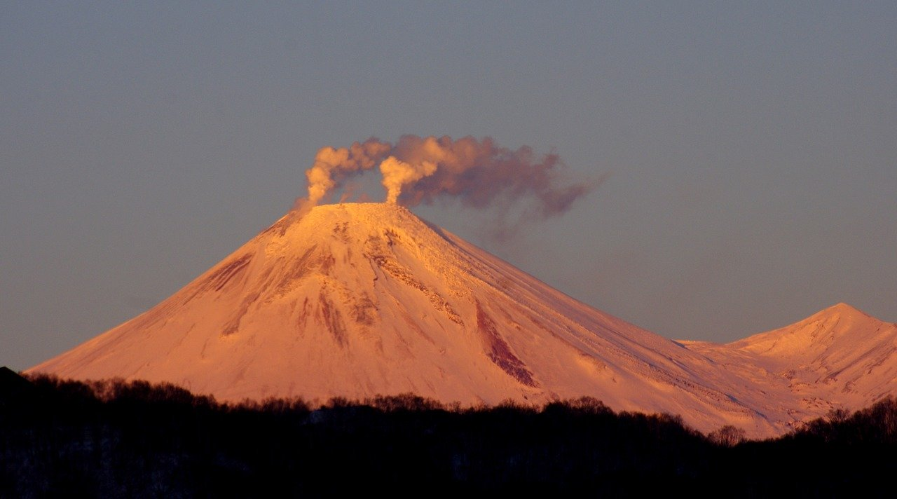 Czynny wulkan