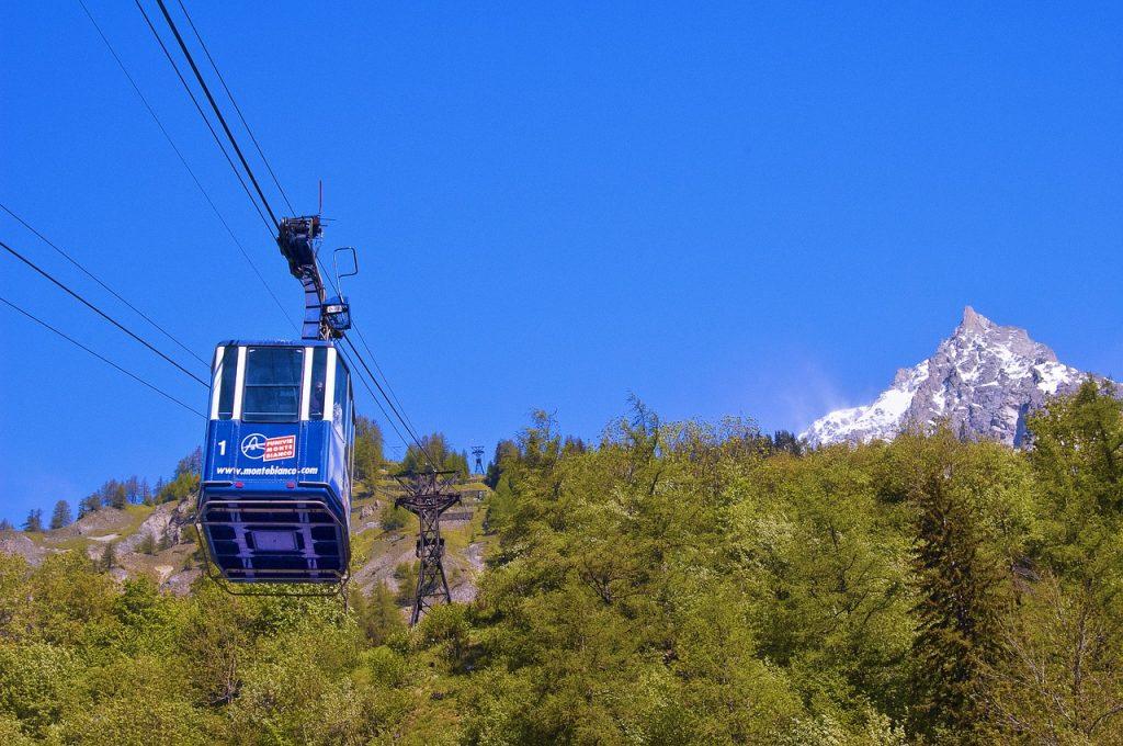 Kolejka Skyway Monte Bianco