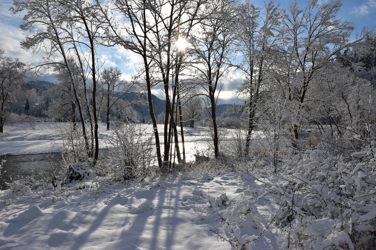 Zima w gorach