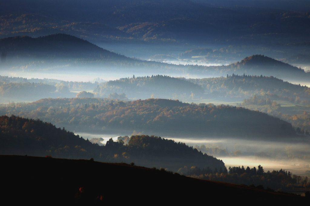 Góry Stołowe z bliska