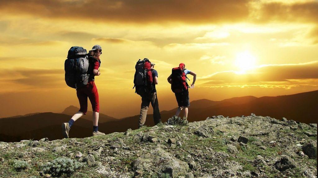 Trasa trekkingowa w Tatrach Zachodnich