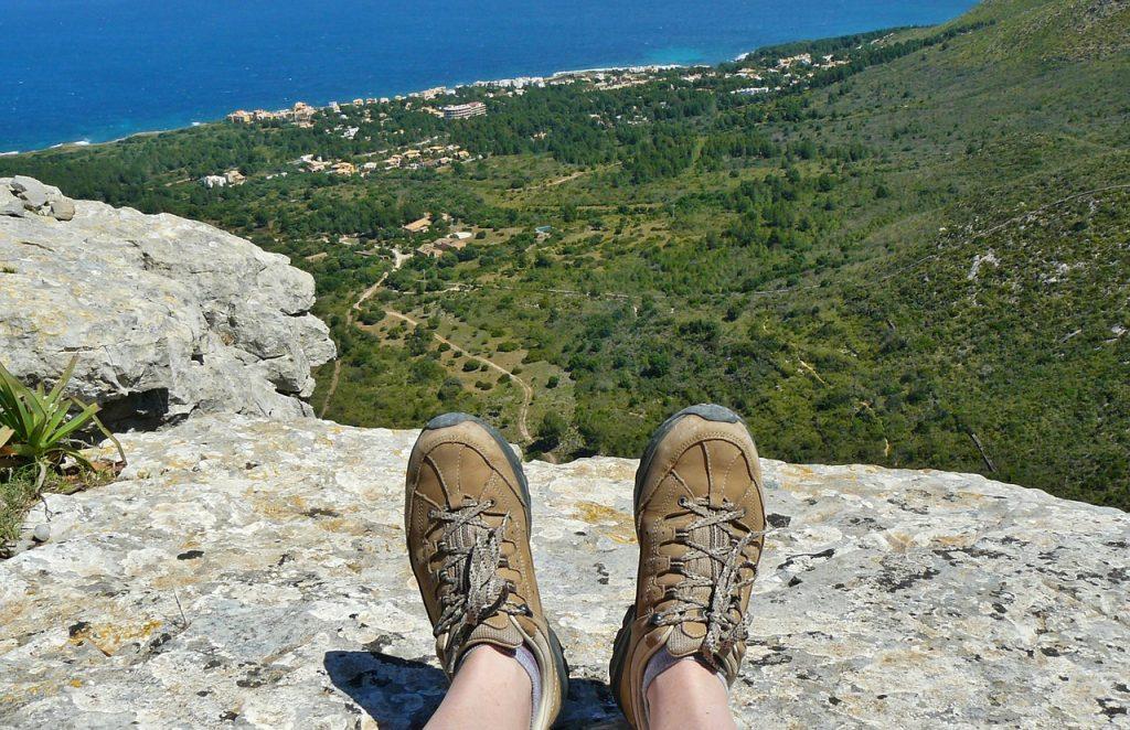 buty trekkingowe widok